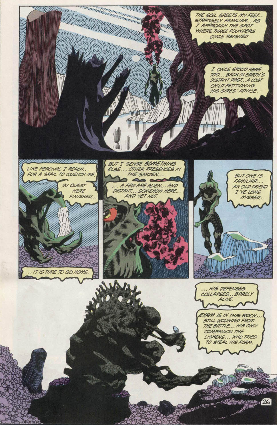 Swamp Thing (1982) Issue #100 #108 - English 25