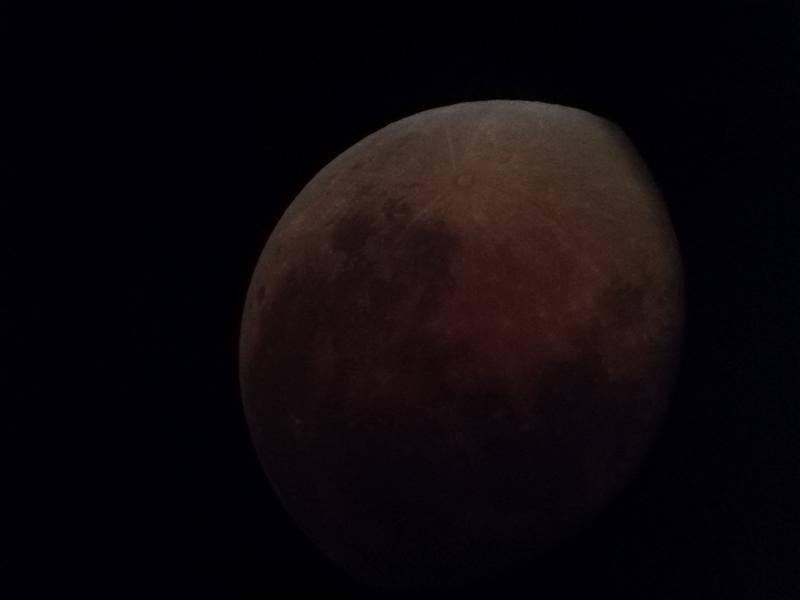 Huawei Nova 2i Camera Sample - Lunar Eclipse