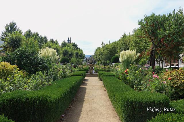 Jardin de la alameda, Villafranca del Bierzo