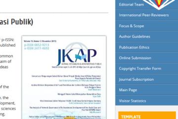 Membuat Side Bar di OJS (Open Journal Systems)