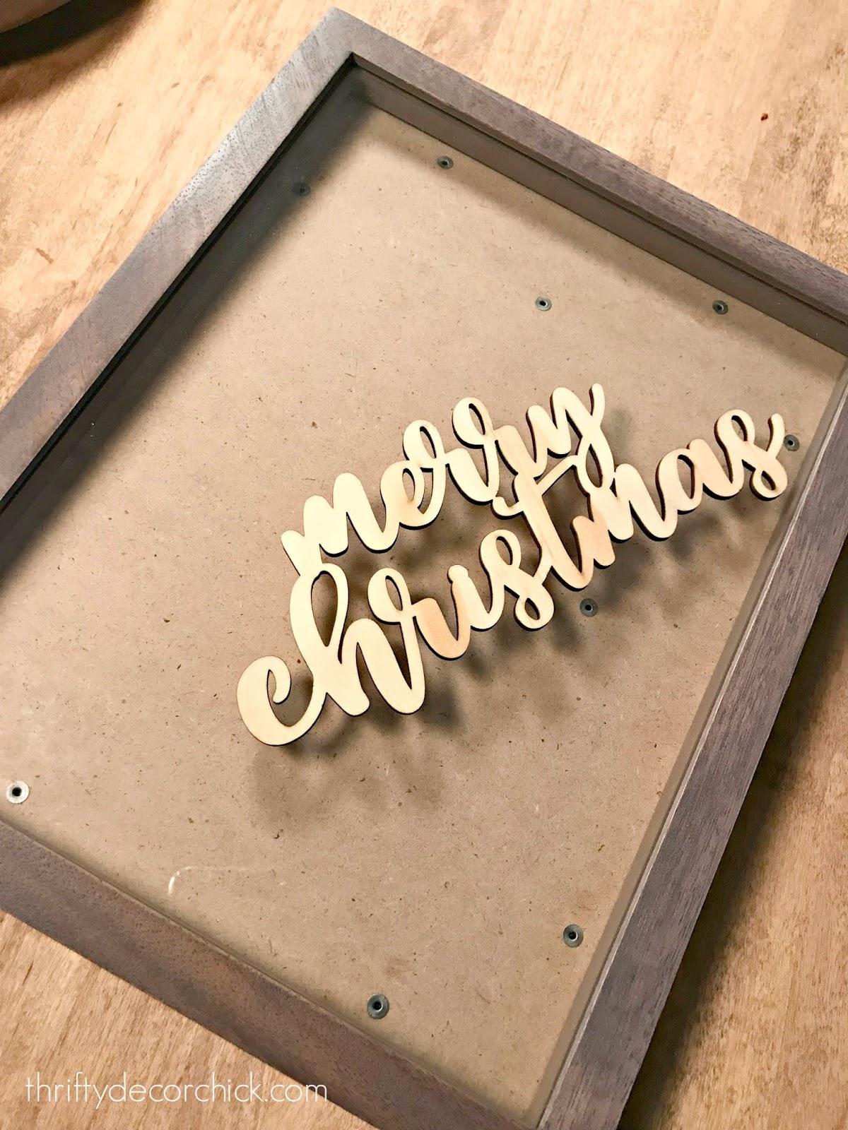 Diy Christmas Snow Globe Art From Thrifty Decor Chick