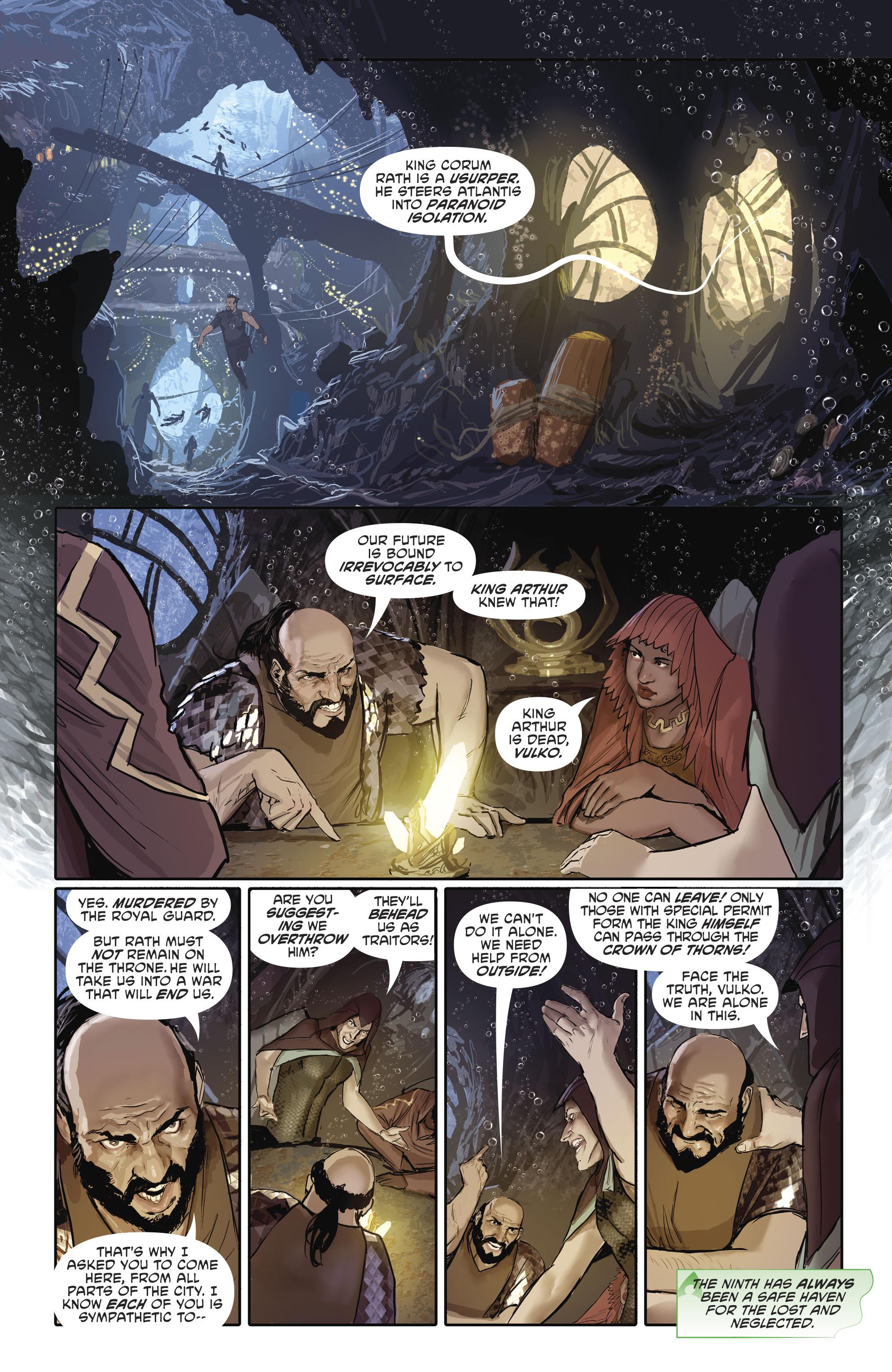Read online Aquaman (2016) comic -  Issue #25 - 9