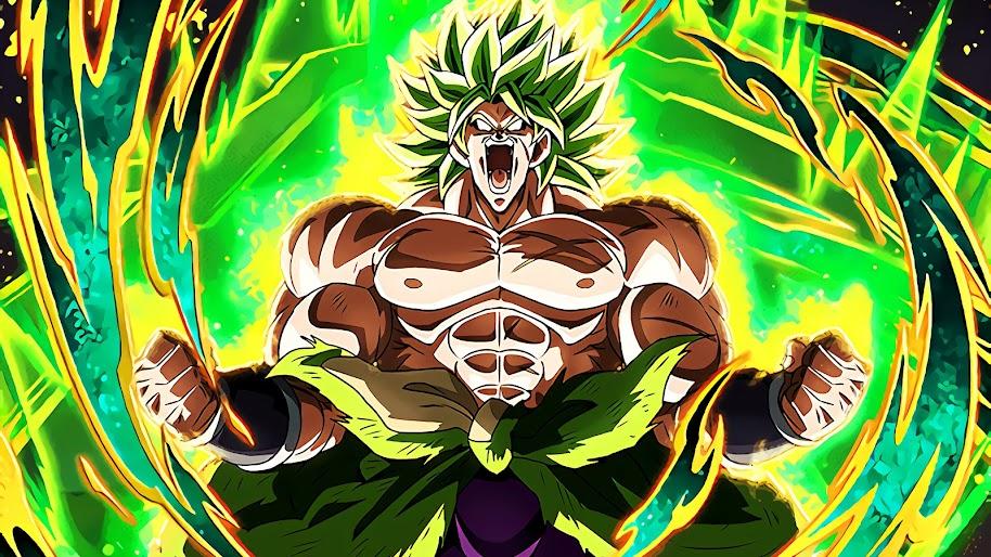 Broly, Legendary Super Saiyan, Dragon Ball Super: Broly, 4K, 3840x2160, #19 Wallpaper