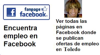 Páginas en Facebook  Soria, en donde se publican ofertas de empleo