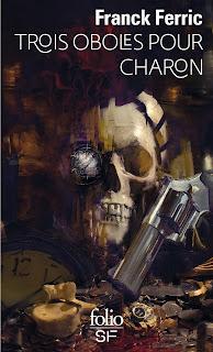 Trois oboles pour Charon, de Franck Ferric (Gallimard. Illus. par Bastien Lecouffe Deharme)