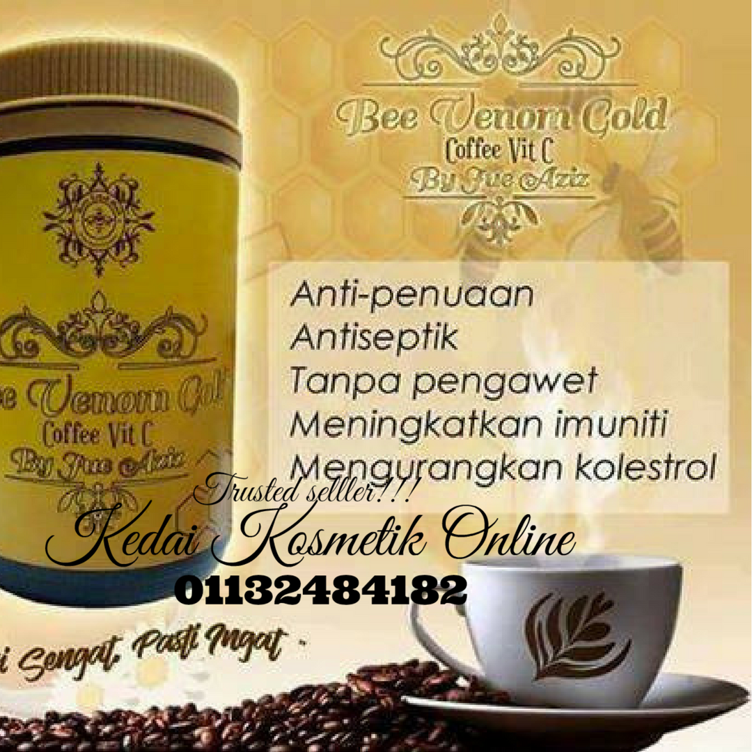 BEE VENOM GOLD COFFEE