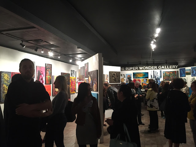 bold, bold expressions, art show, art exhibition, portrait artist, portrait art, toronto art, toronto portrait artist, beauty art, malinda prudhomme, super wonder gallery, bloor art