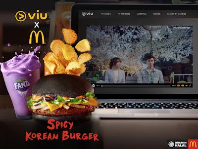 McDonald's Malaysia FREE 2 Months of Viu Premium