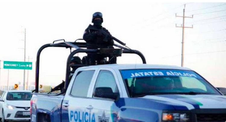 Sicarios emboscan y atacan a policías estatales de Matamoros, Tamaulipas.