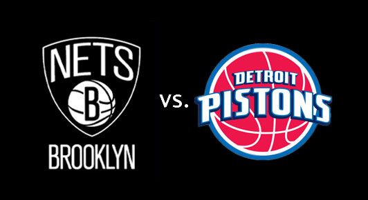 NBA uživo: Detroit Pistons - Brooklyn Nets LIVE PRENOS ONLINE