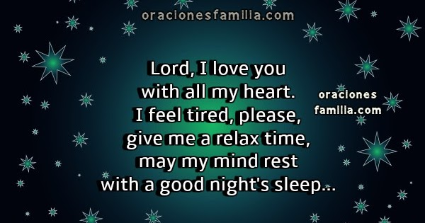 Lord, give me a Good Night, Short Prayer | Short Prayers