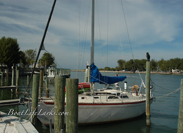 Second Wind docked in Venice, FL