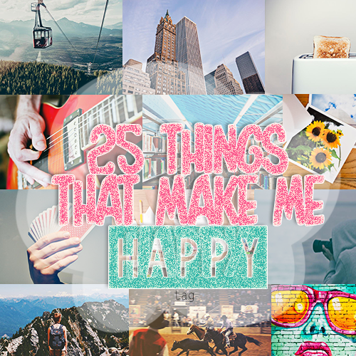 25 Things That Make Me Happy | Lenne Zulkiflly