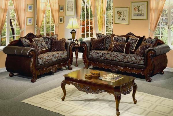 Model sofa ruang tamu dari kayu