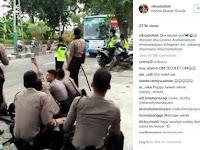 Lagi, Para Polisi Berseragam Pun Terjangkit Kehebohan Klakson Bus Telolet, Videonya Jadi Viral!