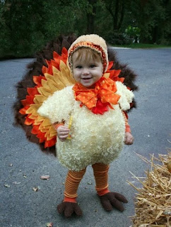 Funny Turkey Costume