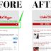 Comment Blogger Mobile PageList drop-down menu View as WebView