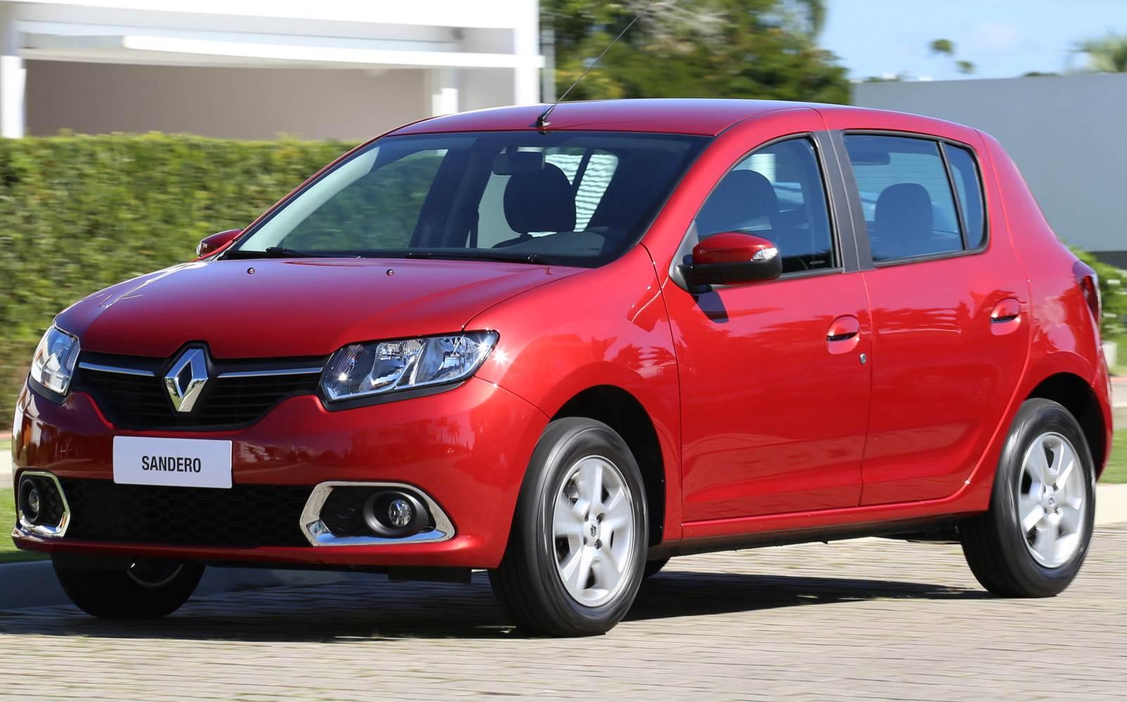 Renault faz recall de Sandero e Duster por falha no airbag