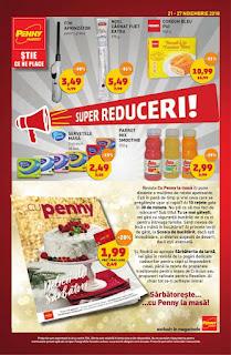 Catalog Penny 21 - 27 noiembrie 2018 cu super reduceri