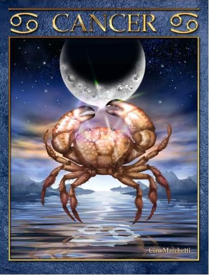 Tarot Musings Using Tarot Reversals: Tarot Musings: Cancer The Crab
