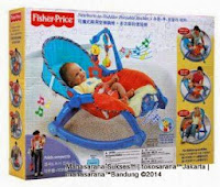 Baby Bouncer Fisher-Price Newborn-to-Toddler Portable Rocker