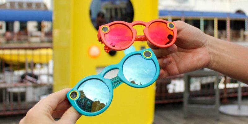 aefc09d68a394 Máquinas Snapbot na Universal  óculos inteligentes que gravam o que ...