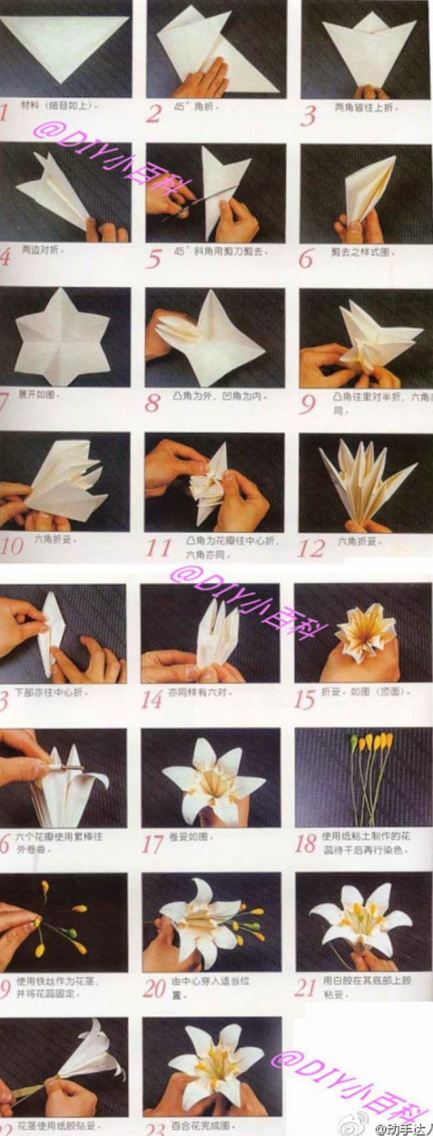 Square Base: How To Make An Origami Lily | Origami 101 | Guides | 1600x610