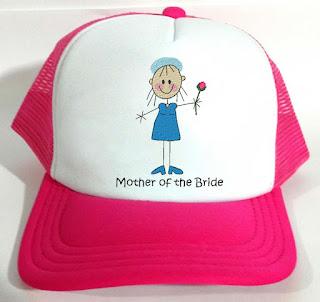 Boné para noiva e casamentos personalizado com bordado | Mãe da noiva
