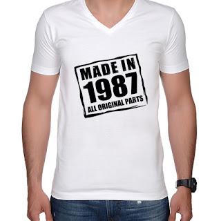 Koszulka Made in (twój rocznik)