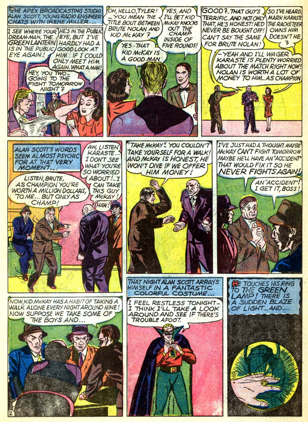 Read online All-American Comics (1939) comic -  Issue #22 - 4