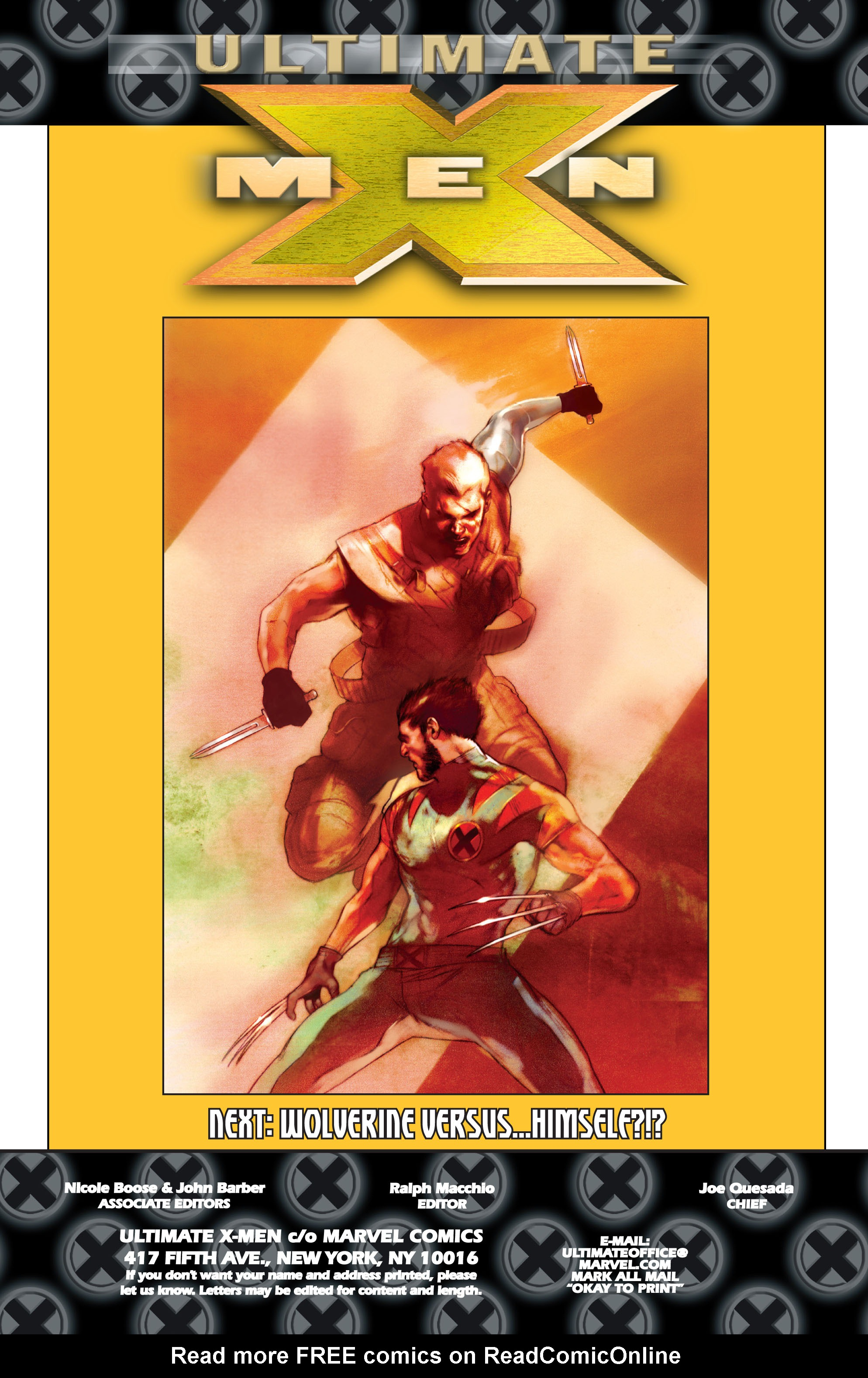 Read online Ultimate X-Men comic -  Issue #75 - 37