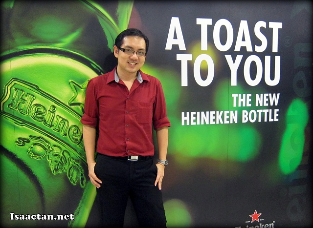 A toast for you? From your friendly neighborhood blogger, Isaac Tan