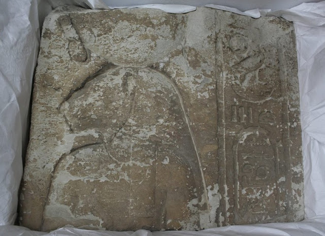Egypt recovers limestone relief from France