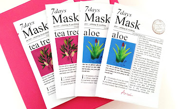 Ariul 7Days Mask - Tea Tree and Aloe