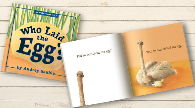 children's book cover: Who Laid the Egg?