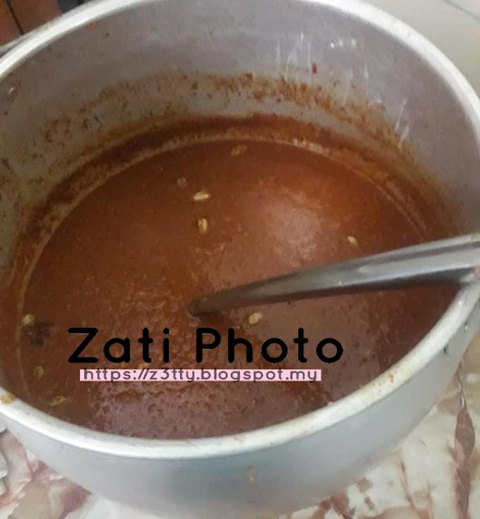 Resepi : Kuah Kacang / Kuah Satay
