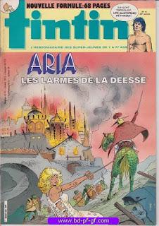 Tintin-numéro 41, année 38, 1983, Aria