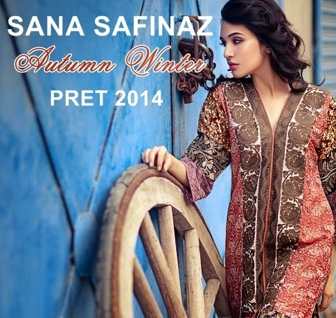Sana Safinaz Autumn Winter Collection 2014