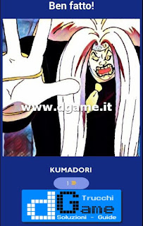 Soluzioni Guess The One Piece Character livello 13