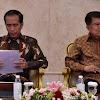 Tak Biasanya JK Absen Sidang Kabinet Paripurna Jokowi di Istana