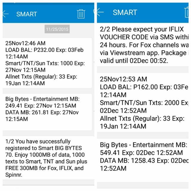Smart Big Bytes 70 now available, 1000 MB and 1000 tri-net