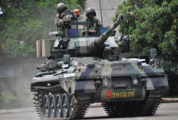 Tank ScorpionTNI AD