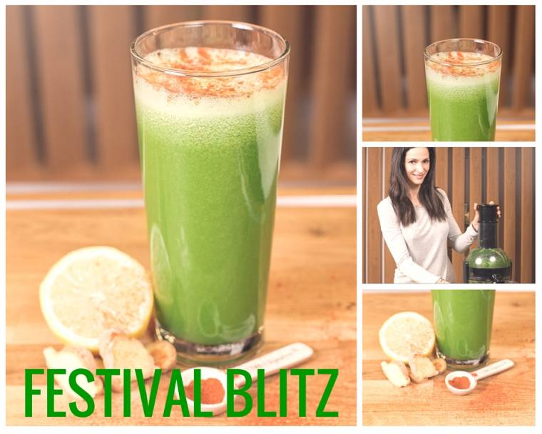 Festival Blitz Smoothie: Perfect For Festival-goers