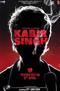 Kabir Singh First Look Poster 2