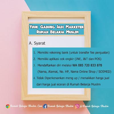 Syarat Marketer