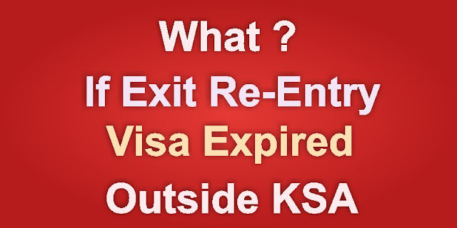 What if Exit Reentry visa expired