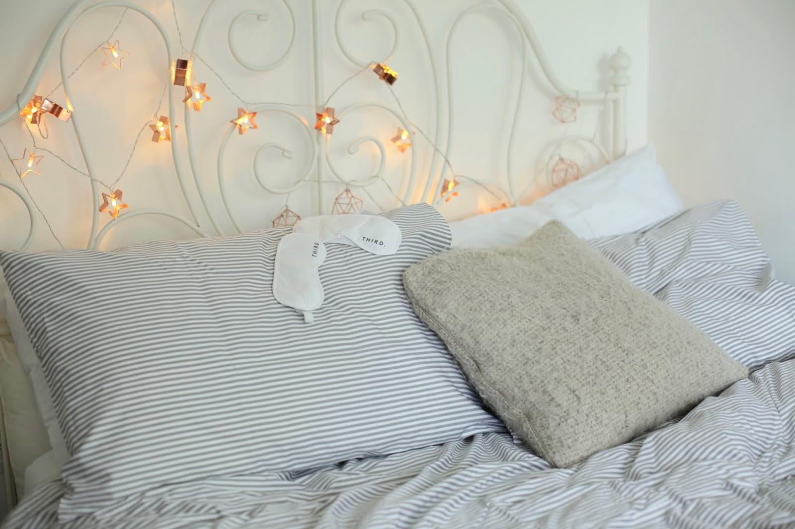 stripe bedding