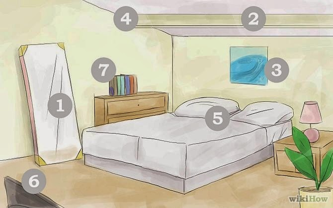 Don T Have A Mirror Facing Your Bed Or Mirrored Closet Doors They End Up Putting To Much Energy In Room The Point Of Feng Shui Is Calm Everything