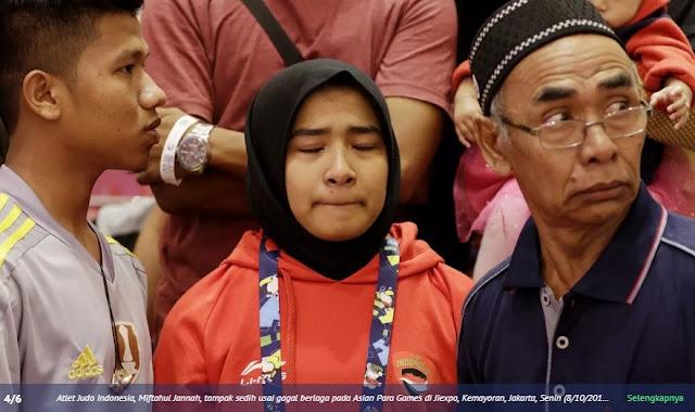 Tolak Lepas Jilbab, Atlet Indonesia Didiskualifikasi dari Asian Para Games