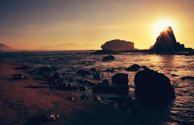 Sunset Pantai papuma Jember